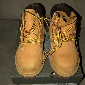 Toddler boy Timberland boots